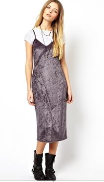 ASOS Reclaimed Vintage 80s Slip Dress