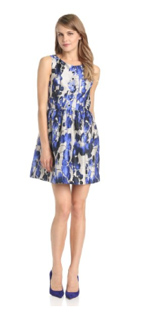 Kensie Vines Print Dress