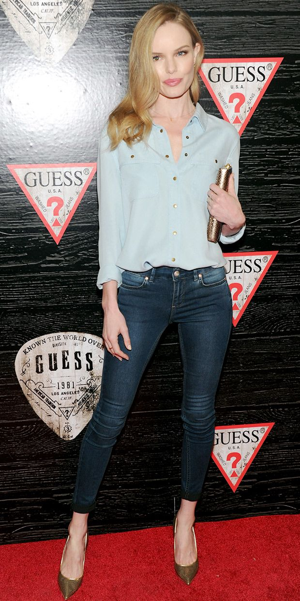 Kate Bosworth Is Effortlessly Chic In Guess