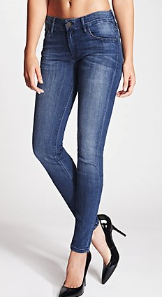 Guess Sophia Mid-Rise Curvy Skinny Jeans