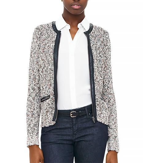 Club Monaco Dani Stitch Sweater Jacket