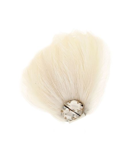 My Vintage Academy Feathered Mono-earring