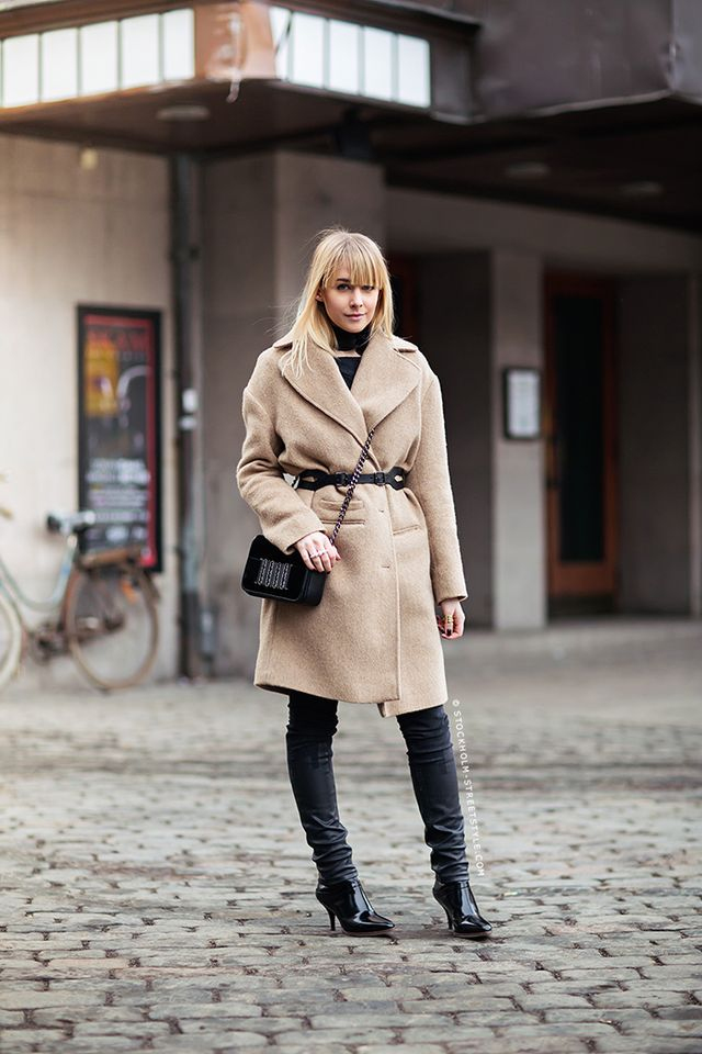 Day 21: Belt your outerwear.
