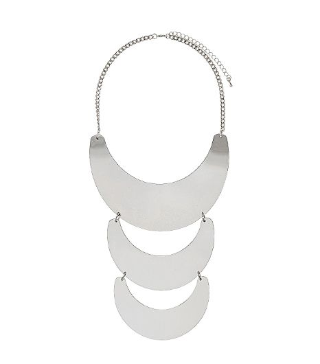 Topshop Three Piece Semi Circle Necklace