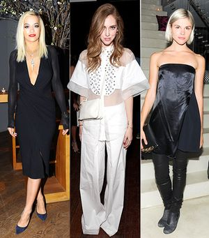 Your Weekend Outfit Inspiration Courtesy of Fashion Week Partygoers