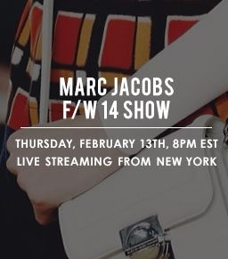 Watch The Marc Jacobs Fall 2014 Runway Show Live