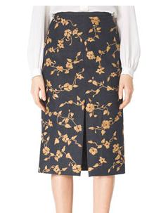 Michael Kors Wool-Blend Skirt
