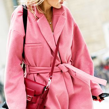 Trend Report: The Pink Coat Takes Over Fashion Week
