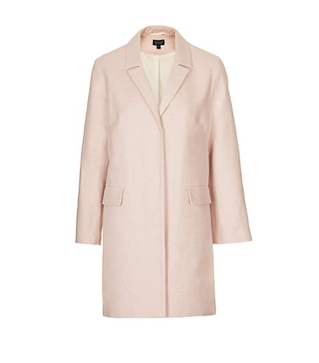 Topshop Tailored Lightweight Coat