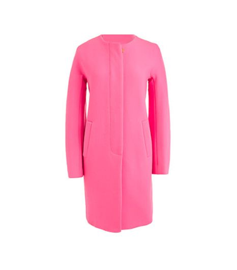 J. Crew Tall Double-Cloth Sabrina Coat