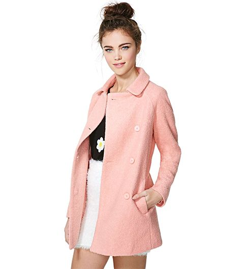 Nasty Gal Charlene Wool Coat
