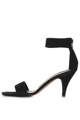 Topshop Nina Single Sole Mid Heels