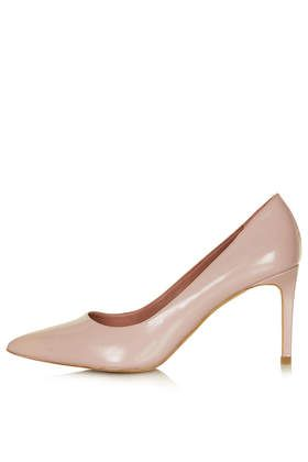Topshop Golden Box Point Mid Shoes