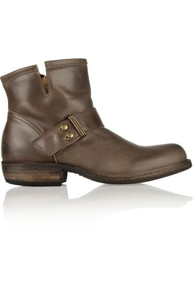 Fiorentini & Baker Celt Leather Ankle Boots