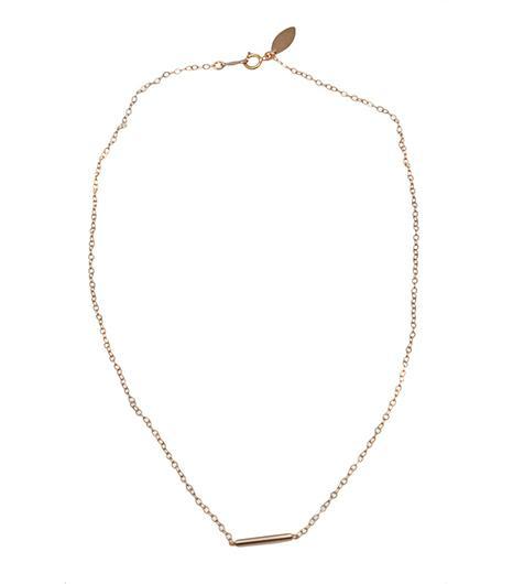 Devon Pavlovits Tiny Bar Necklace