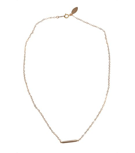 If understated is your game, then this delicate necklace will be your MVP.  