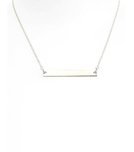 Topshop Simple Bar Necklace