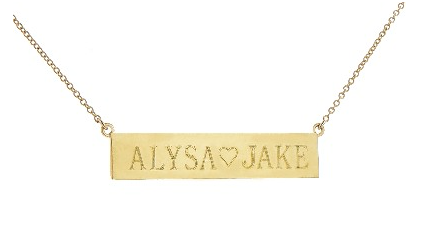 Jennifer Meyer Personalized Nameplate