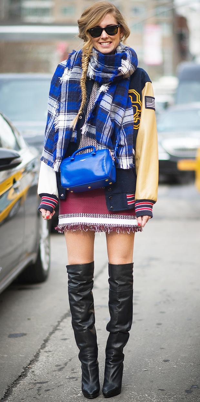 Chiara Ferragni Bundles Up In Style