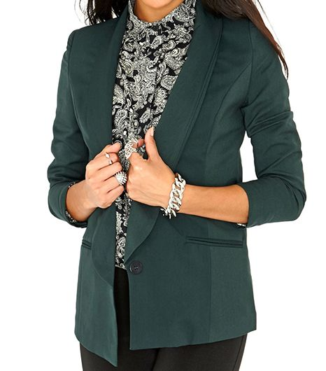 Missguided Eilise Long Line Blazer