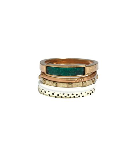 Madewell Playlist Stacking Rings