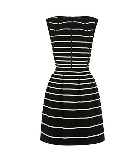 Oasis Graduated Stripe Dress