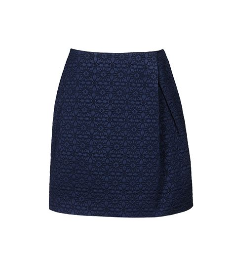 Raoul Knee Length Skirt