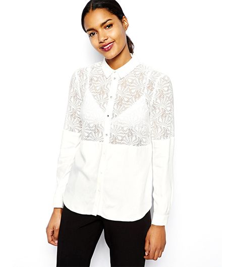 River Island Burnout Shirt