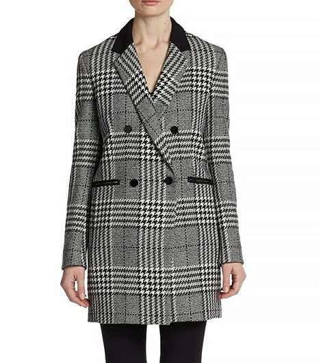 McGinn McGinn Carrie Houndstooth Check Coat