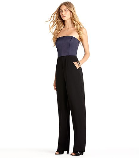 Rachel Roy Strapless Jumpsuit
