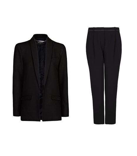 Mango Essential Straight-Cut Blazer and Trouser