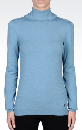 Armani Jeans Turtleneck with High Neck Sweater