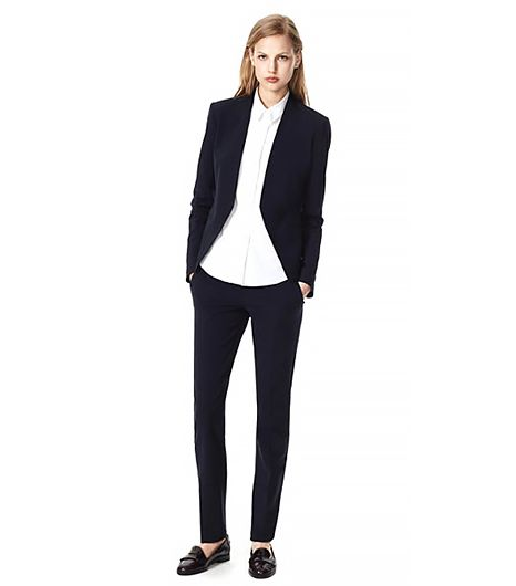 Theory Theory Uniform Lanai Jacket & Louise Pant in Urban Stretch Wool