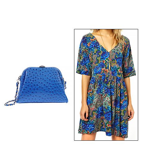 Asos Smock Dress ($102) in Paisley and Floral Print 