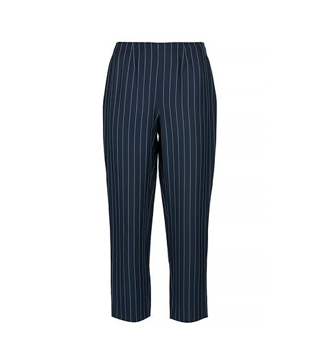Future Ozbek Vintage Striped Cropped Trouser