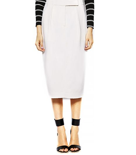Sister Jane Wool Pencil Skirt