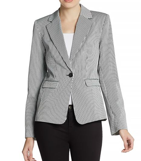 Theyskens' Theory Jlender Striped Blazer