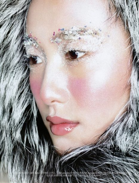 Shu Pei Is An Arctic Beauty in Vogue China