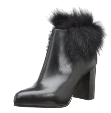 See by Chloe Fur Top Ankle Boots