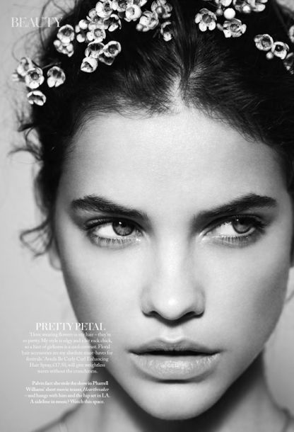 Barbara Palvin and the Floral Flush