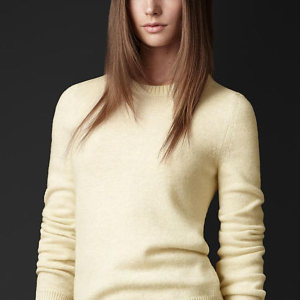 Burberry Prorsum Twist Detail Sweater