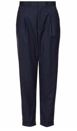Topshop Modern Tailoring Pinstripe Trousers