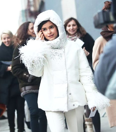 The Most Stylish Ways To Wear A White Coat | WhoWhatWear