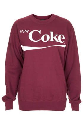 Topshop Enjoy Coke Sweater