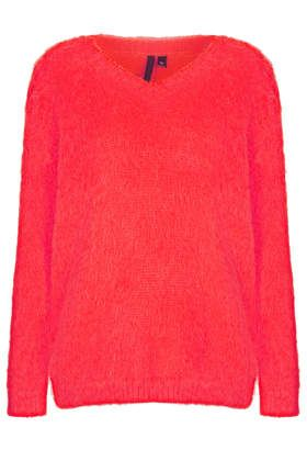 Topshop by Boutique Brushed Mohair Jumper