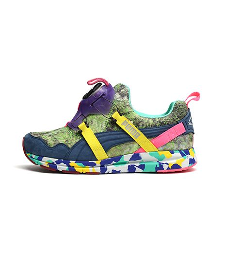 PUMA PUMA x Solange Disc Girls of Blaze Disc Collection Rainforest Sneakers in Dark Denim
