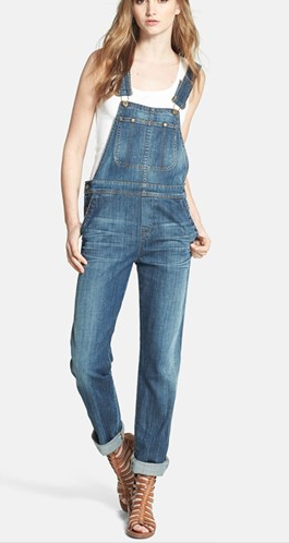 Citizens of Humanity Drama Quincey Overalls