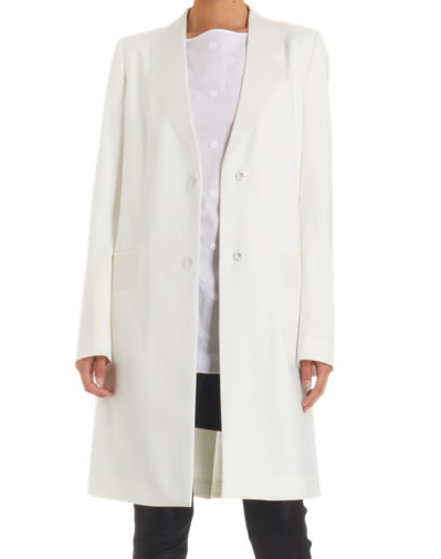 Maison Martin Margiela Buried Lapel Long Coat