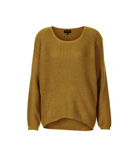 Topshop Knitted Clean Rib Jumper