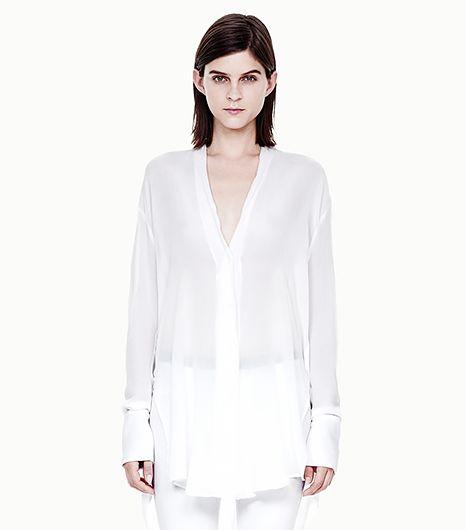 Helmut Lang Mist Oversized Button Down